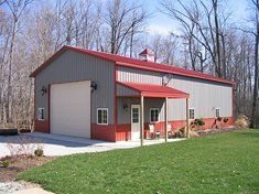Custom Pole Barn Designs By Experienced Ohio Builder Horse Barns And Garage Construction Grand Garages Storage Sheds
