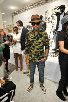 Emily's Style Notes: Pharrell Williams Visits Toronto - FLARE