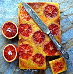 Heavenly, soft naturally gluten-free blood orange polenta cake brightens up a cold winter's day. And you can mix it all up in one bowl too. Easy and colourful baking that the kids can help with too.