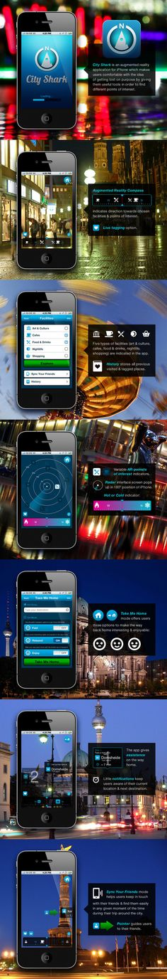 CITY SHARK #ui #mobile
