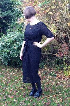 Kielo Wrap Dress with sleeves - The Magnificent Thread
