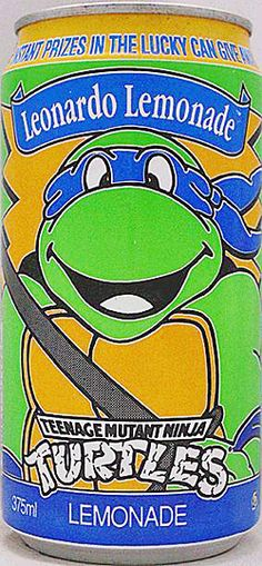 1991 Teenage Mutant Ninja Turtles Leonardo Lemonade