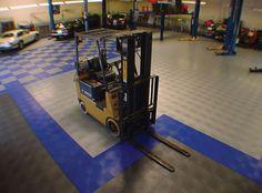 Commercial Garage Flooring - Forklift Tough
