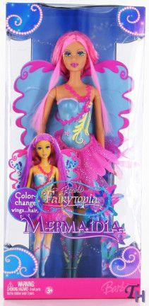 barbie fairytopia dolls | Barbie Fairytopia Mermaidia Color Change Doll - Blue by Mattel