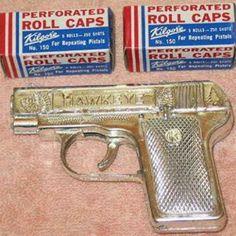 Caps & Cap gun