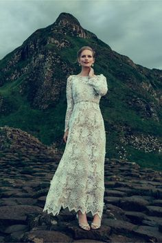 Pure love for this dress and the whole setting #weddingdress