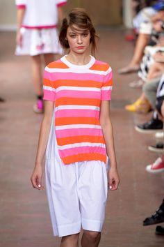 T-shirt oversize a righe orizzontali   I m Isola Marras ss 2015 Moda 54797378ec0