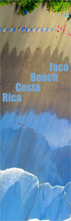 Beautiful beach, great food & amazing rainforest - Playa Jacó is one of the most popular in Costa Rica! http://costa-rica-guide.com/top-10/jaco-hermosa-honorable-mentions/