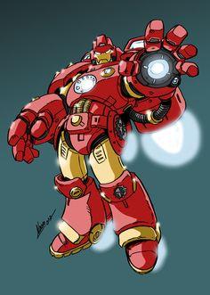 Iron Brother Stark by NachoMon on DeviantArt Comic Book Characters, Comic Character, Character Design, Marvel Fan, Marvel Heroes, Iron Batman, Art Studio Room, Iron Man Art, Man Thing Marvel