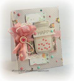 Kristi's Paper Creations: Happy Hearts
