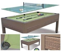 Outdoor Game Table Pool Tennis Top Billiard Room Accessory Kit Patio Ping Pong