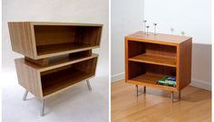 Book Shelves. Custom furniture by Jesse Knutson, Independent Woodworks.