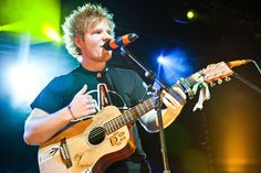 Ed Sheeran - May 2012, Paramount Theater, Seattle (opened for Snow Patrol)