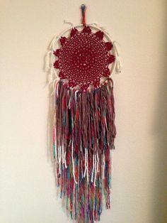 Coyote Call Crochet Dreamcatcher / Dream by TrystanKarmaKinley, $30.00