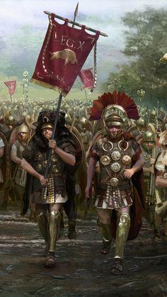 Legio X Equestris Military Art, Military History, Ancient Rome, Ancient History, Roman History, Art History, Imperial Legion, Roman Armor, Rome Antique