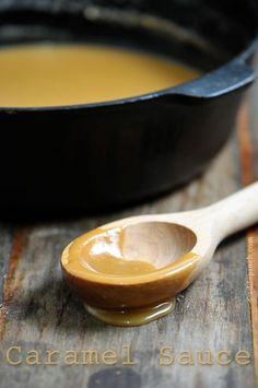 Caramel Sauce Recipe from addapinch.com