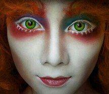 Inspiring image alice in wonderland, mad hatter, makeup, makeup art #2796720 by miss_dior - Resolution 320x352px - Find the image to your taste