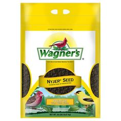 Wagner's 62053 Nyjer Seed Bird Food, 20-Pound Bag - http://darrenblogs.com/2015/10/wagners-62053-nyjer-seed-bird-food-20-pound-bag/