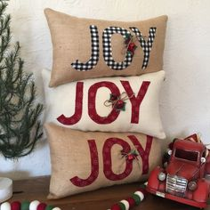Hot topics, interesting posts and up to date news Christmas Cushions, Christmas Pillow Covers, Burlap Christmas, Christmas Sewing, Christmas Christmas, Christmas Crafts, Christmas Ideas, Christmas Decorations, Modern Christmas