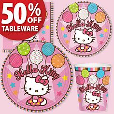 Hello Kitty Party Supplies- Birthday Parties - Party America
