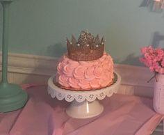 Smash cake, pink rosette cake