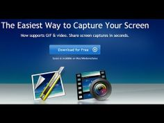 How to Capture Screen|Screen Capture Software |Make a GIF from a Video| ...