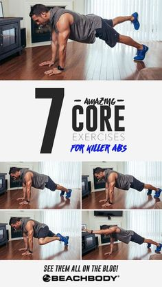 Want a rocking core? You need to be doing the right exercises. Check out these great ab workouts demonstatred by Joel Freeman. Core workouts // best core workouts // abdominal workouts // great ab exercises // Beachbody workouts // Beachbody // Beachbody Blog