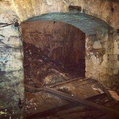Crown Brewery tunnel #bockfest #OTR via @beccahoffman