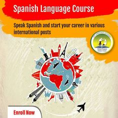 Speak Spanish and Start your career in various international posts. Spanish Language Courses, Interview Training, How To Speak Spanish, How To Introduce Yourself, Vocabulary, Career, Posts, Spanish Courses, Carrera