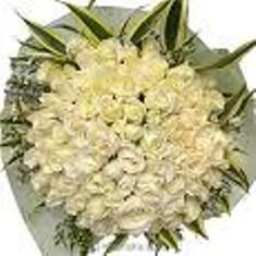 White Roses Bouquet To Pune Delivery Secured Online Gifts All Location In