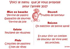 Bonne année Writing, Education, Blog, Sweet Life, Joy, Bonheur, Gazpacho, Truffle, Happy Year