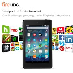 Fire HD 6 - Amazon's Official Site - Learn More