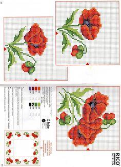 Cross Stitch Love, Cross Stitch Pictures, Cross Stitch Flowers, Counted Cross Stitch Patterns, Cross Stitch Designs, Cross Stitch Embroidery, Hand Embroidery, Embroidery Designs, Crochet Doll Pattern
