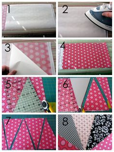 My Blonde Ambitions: Double Sided Bunting Tutorial for TomKat Studio and Giveaway