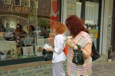 ancient textiles in Camigliatello Silano - Italian Diaspora Summer School 2016