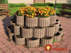 Keď pôjdete do stavebnín, vezmite aj pár svahoviek: Neuveríte, čo všetko môžete mať z týchto betónových tvárnic v záhrade!