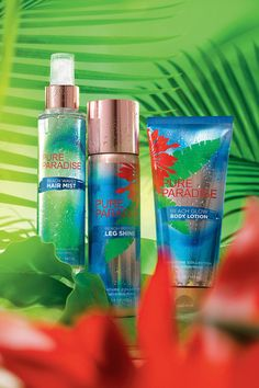 Get surf sexy hair, legs & skin without the sand! #PureParadise
