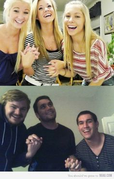 boys should always retake girl pictures. Makes it so much bettterrr. Hahahaha.