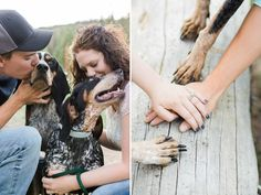 Puppy love... and puppy paws... - See more on the blog!