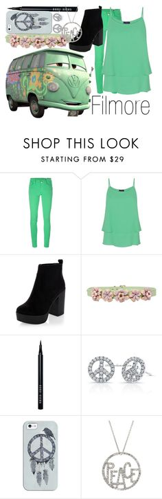 """""""Filmore~ DisneyBound"""" by basic-disney ❤ liked on Polyvore featuring Disney, M Missoni, HotSquash, New Look, Marina Hoermanseder, Bobbi Brown Cosmetics, Casetify and Roberto Coin"""
