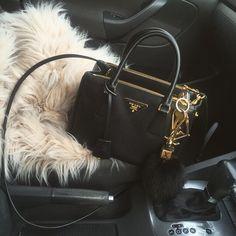 Simple little black purse