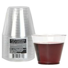 Clear Plastic Tumblers Packs at Deals  sc 1 st  Pinterest & Bulk Clear Plastic Plates 5¾