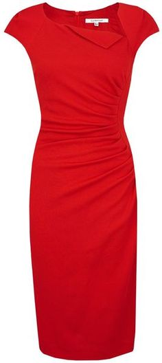 Lk Bennett Davina 2 Dresses in Red (lipstick)