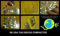 RECICLA TUS DISCOS COMPACTOS |