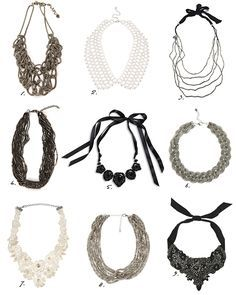 Char & the city -blog, Statement Necklaces