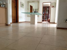 Limestone floor cleaner Esher Surrey