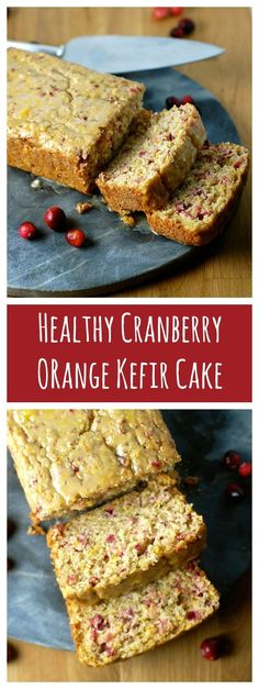 This delicious healthy cranberry orange kefir cake is made with fresh cranberries and orange juice, kefir, whole wheat flour and a minimal…