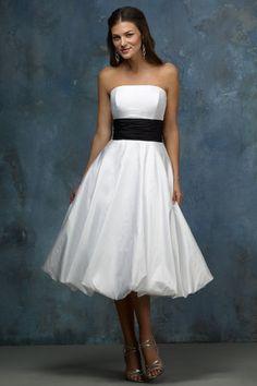 tea length wedding dresses 3 4