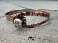 silver button bangle 5