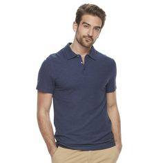 Men's Marc Anthony Luxury+ Solid Slim-Fit Modal Polo, Size: